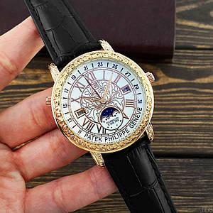 Наручний годинник ААА класу Patek Philippe Grand Complications 6002 Sky Moon Black-Gold-White