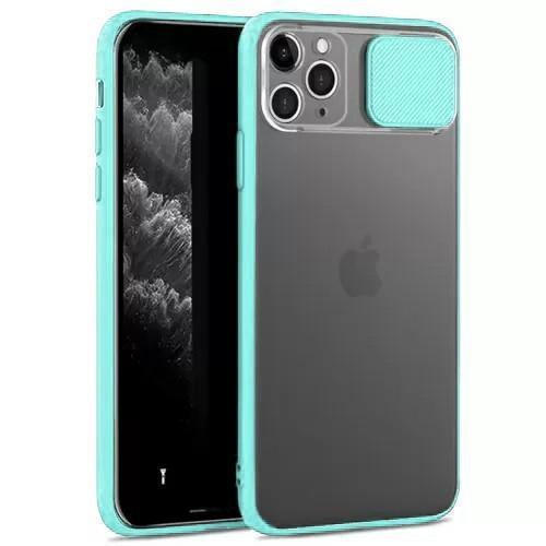 Чохол накладка xCase для iPhone 11 Pro Max Slide Hide Camera Sea Blue