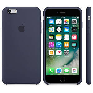 Чехол OEM for Apple iPhone 6/6s Silicone Case Midnight Blue (MKY22)