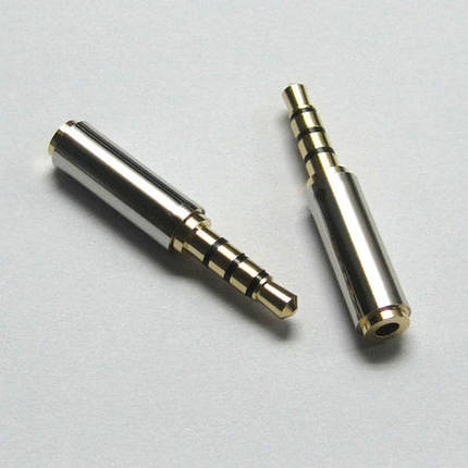 Аудио-адаптер с 2,5 мм на 3,5 мм для телефона, фото 2