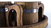 Пивной дубовый набор Greus на 4 персоны для бани и сауны, фото 4