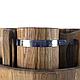 Пивной дубовый набор Greus на 4 персоны для бани и сауны, фото 5