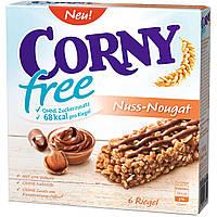 Батончики Corny Nuss Nougat 6s 120 g