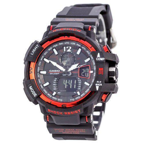 Casio G-Shock GW-A1100 Black-Red