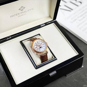 Patek Philippe Grand Complications 6002 Sky Moon Brown-Gold-White