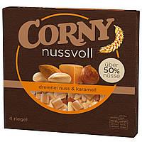 Батончики Corny Nussvoll Caramel 4s 96 g