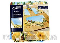 Набір серветок сервірувальних 4 шт. Meradiso 33 х 48 см, серветки, великодній принт