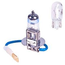 Лампы Pulso/галогенные H3/PK22S 12v55w+50% X-treme Vision/plastic box (LP-32553)