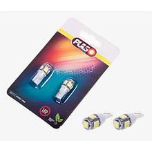 Лампы Pulso/габаритные/LED T10/5SMD-5050/12v1.0w White (LP-21155)