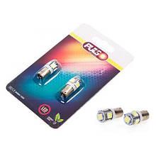 Лампы Pulso/габаритные/LED T8.5/5SMD-5050/24v1.0w White (LP-90242)