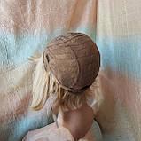 Парик из натуральных волос боб-каре пшеничный блонд ERIN bob- P27/613, фото 6