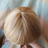 Парик из натуральных волос боб-каре пшеничный блонд ERIN bob- P27/613, фото 8
