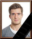 Фотографія на похорон, поминки Розмір 100х150мм (10*15см) в рамкесчерной стрічкою на підкладці, фото 4