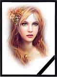 Фотографія на похорон, поминки Розмір 100х150мм (10*15см) в рамкесчерной стрічкою на підкладці, фото 5