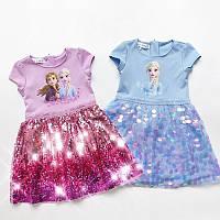 Плаття для дівчинки Холодне серце Frozen, фото 1