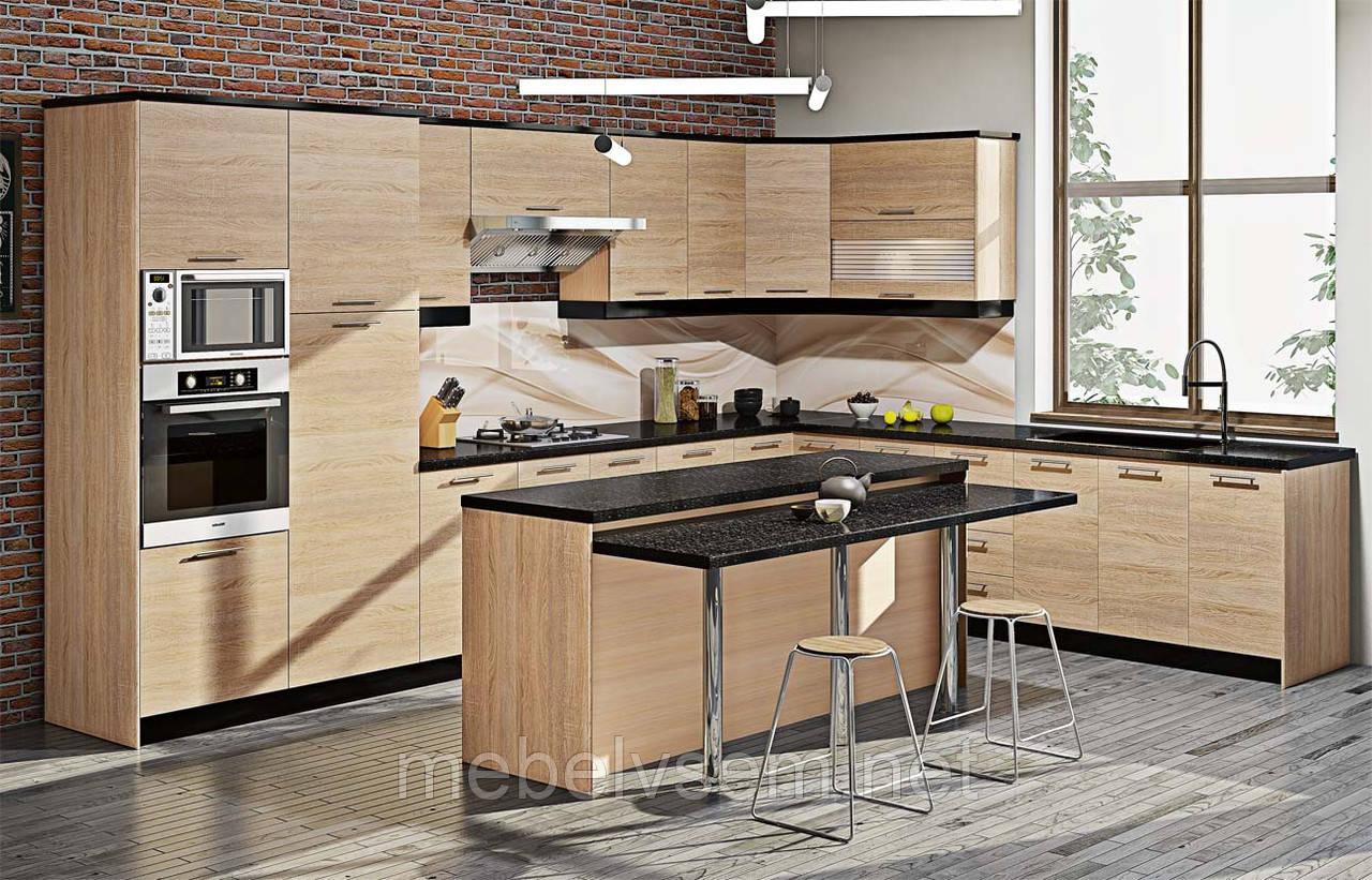 Кухня  серії Еко КХ 6707  Комфорт мебель