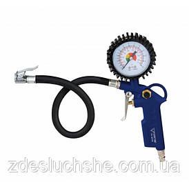 Пневматичний пістолет для накачування коліс з манометром Forte TIG-6316 SKL11-236620