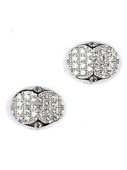 Серьги-пуссеты серебряные