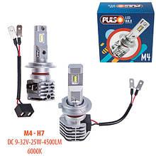 Лампы Pulso M4/H7/LED-chips CREE/9-32v/2x25w/4500Lm/6000K (M4-H7)