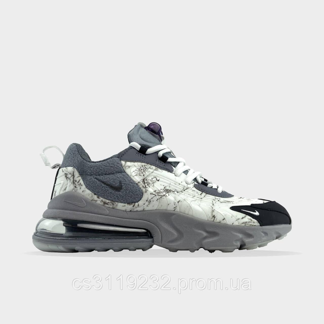 Чоловічі кросівки 270 React X Travis Scott (сірий)