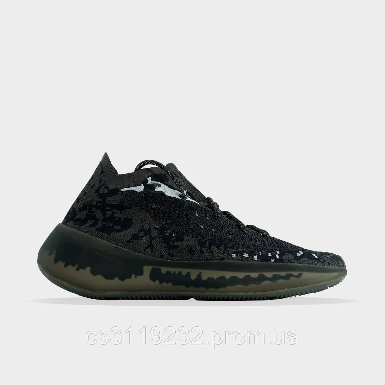 Мужские кроссовки Yeezy Boost 380 Black(черные)