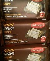 Халва кунжутная (тахинная) с какао Sahinoglu Pistachio 200г Турция