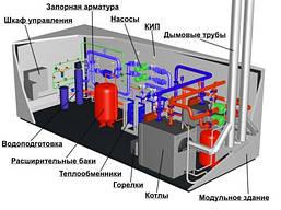 Строительство котельных и монтаж котлов отопления, проектирование и установка.