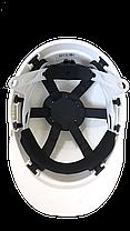 Каска захисна SAFE-GUARD 2110 (біла), фото 3