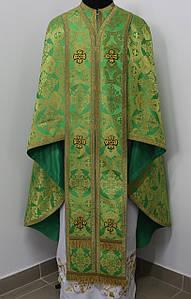 Священичі ризи, зелений
