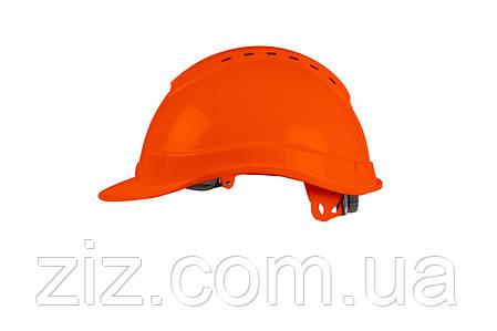 Каска захисна SAFE-GUARD 2160 (помаранчева), фото 2