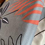 Постельное белье полуторный комплект с простыню на резинке Постельное белье с фланели 1,5 полуторка, фото 4