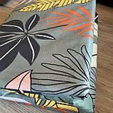 Постельное белье полуторный комплект с простыню на резинке Постельное белье с фланели 1,5 полуторка, фото 8