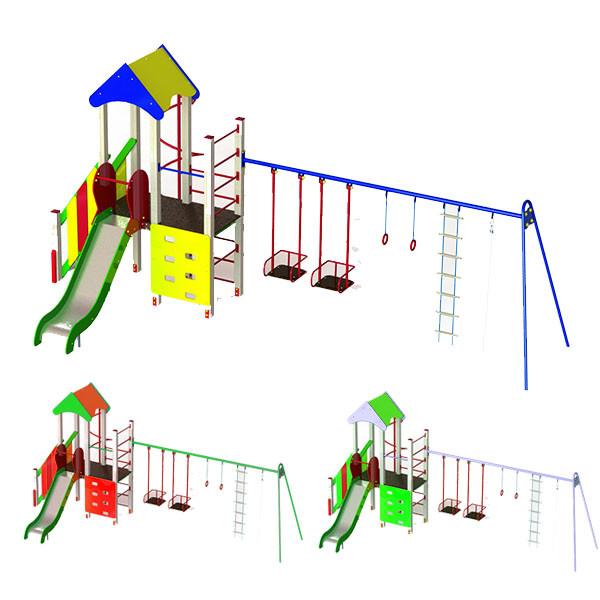 """Ігровий комплекс """"Єнотік плюс"""" для дитячого майданчика Прумиум Клас."""