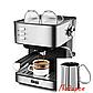 Кофемашина еспрессо для дома с капучинатором и питчером DSP КА3028 рожковая полуавтомат, фото 3