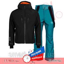 Чоловічий гірськолижний костюм EA7 Emporio Armani 2020 XL чорний зелений 6gpg05-6gpp04-pnq8z-VD XL