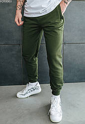 Спортивные штаны Staff khaki basic хаки FOT0003 L, 50