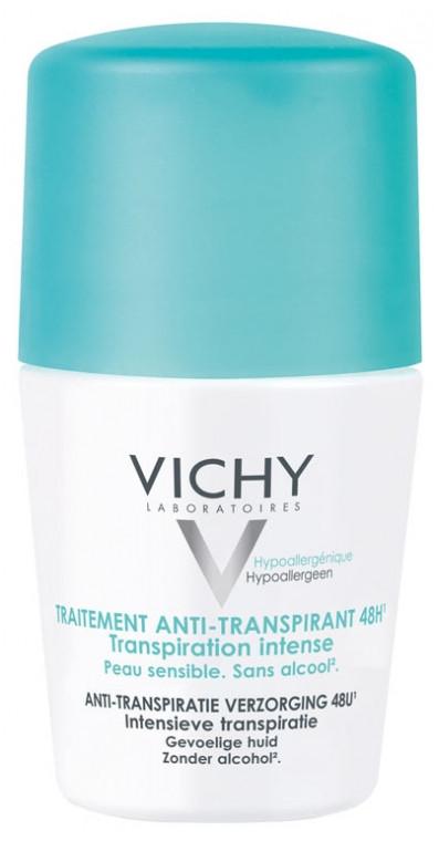 Інтенсивний дезодорант антиперспірант Віші Vichy 48H Intensive Anti-perspirant Deodorant Roll-on 50 мл