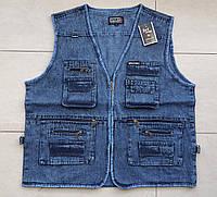 Жилетка джинсовая норма в розницу 46-48