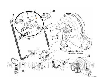 Клапан ac688344 3-х ходовий Kverneland, фото 2