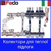 Колектора для теплої підлоги Fado