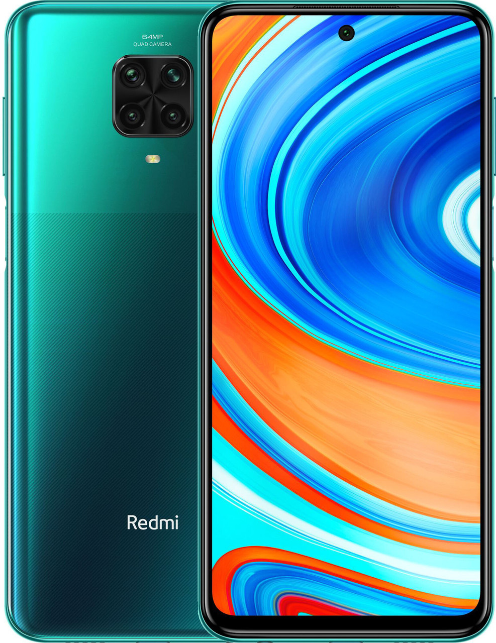 Смартфон Xiaomi Redmi Note 9 Pro 6/128GB Forest Green (Global)