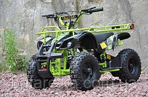 Дитячий электроквадроцикл Crosser eatv 90505 1000W/36V Салатовий