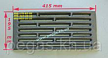 Чавунний Колосник (195х415 мм) печі, котли, барбекю, мангал
