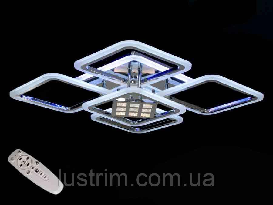 Светодиодная люстра с диммером и подсветкой 140W