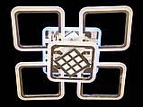 Светодиодная люстра с диммером и подсветкой 140W, фото 2