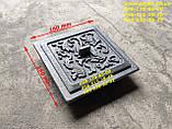 Чавунний Колосник (415х190 мм) чавунне лиття, печі, мангал, барбекю, котли, фото 7