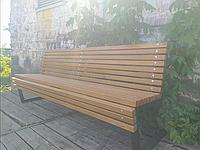 Скамья в стиле ЛОФТ 2000х1000х700, Лф28, фото 1
