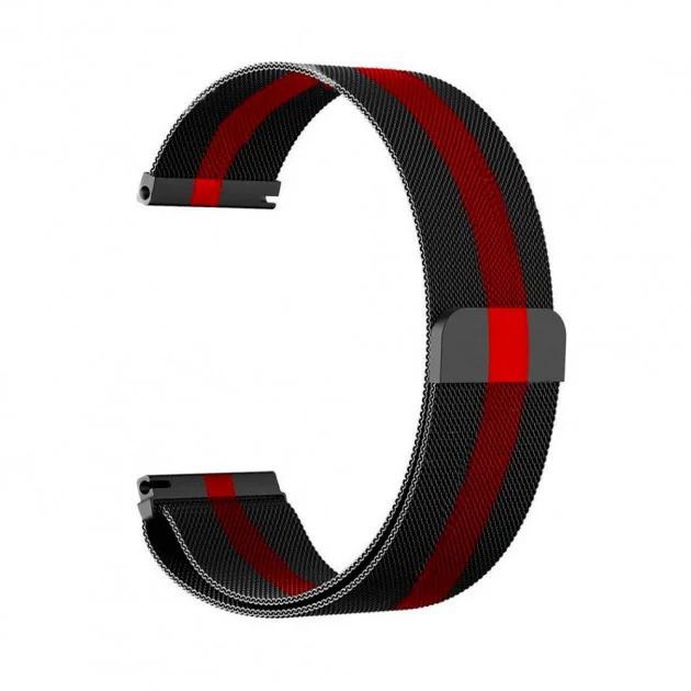 Ремінець для годинника Samsung Galaxy Watch 3 45mm з нержавіючої сталі Milanese Loop 22 мм