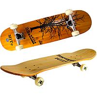 Maraton Apollo 2997 трюковый деревянный скейт из 9 слоев клена с двойным концевым загибом