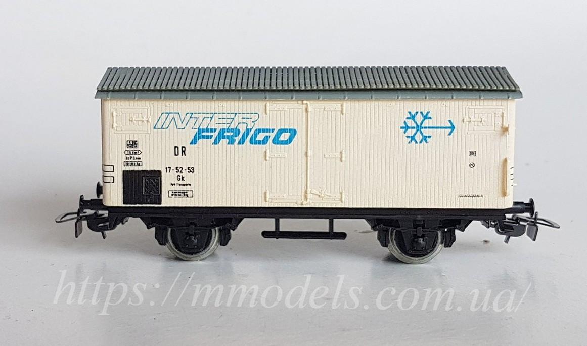 Piko GDR модель 2х осного льодовика Interfrigo, приналежності DR, масштабу H0, 1:87
